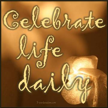 celebrate life daily