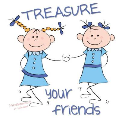 treasure your friends