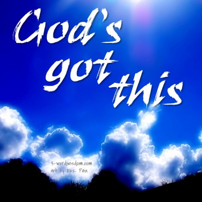God's got this