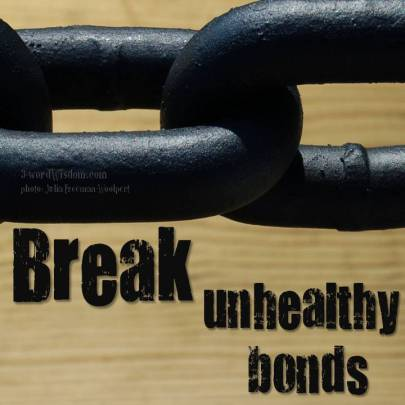 break unhealthy bonds