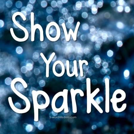 Show your sparkle