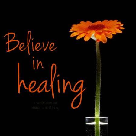 believe in healing
