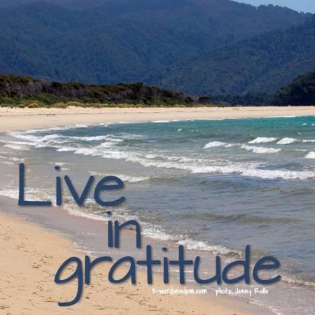 gratitude - May
