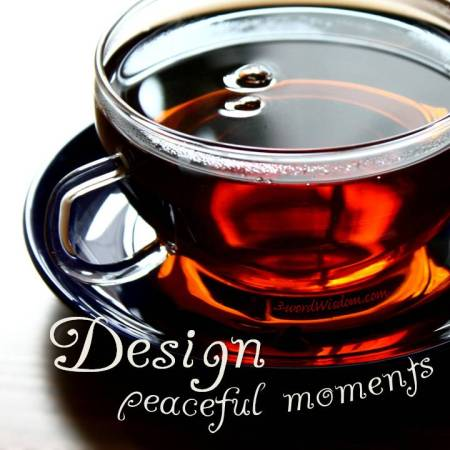 design peaceful moments