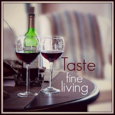 taste fine living