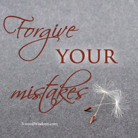 forgive your mistakes