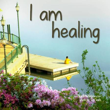 I am healing