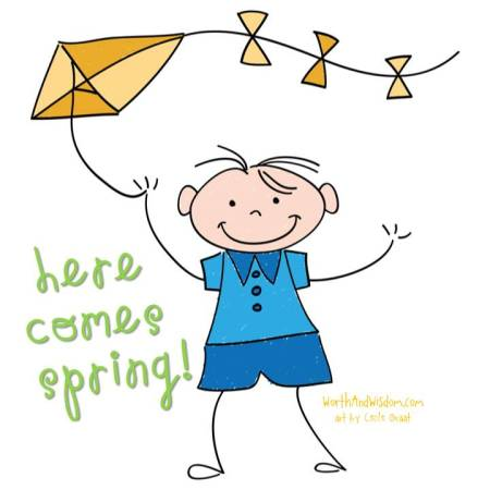 here comes spring