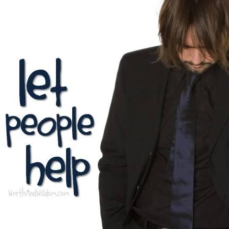 let people help