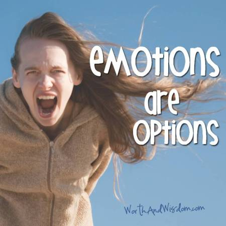 emotions are options