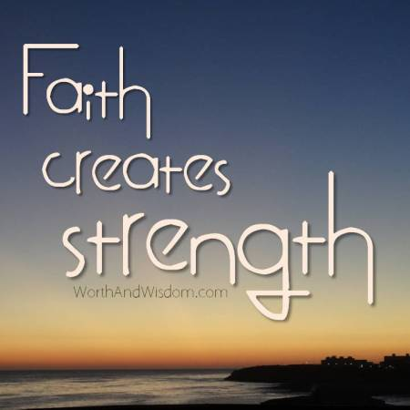 faith creates