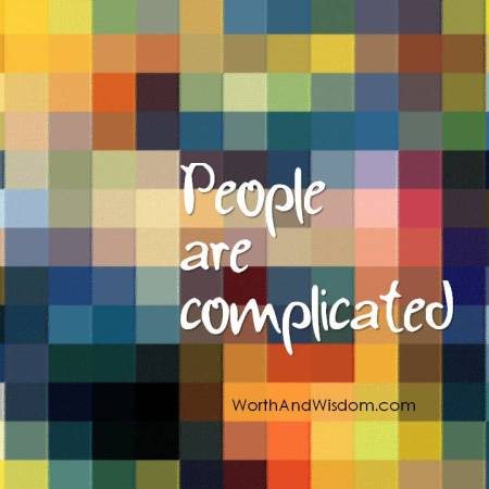 people are complicated