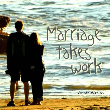 marriage takes work