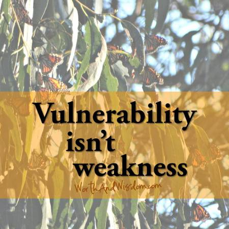 vulnerability isn't weakness