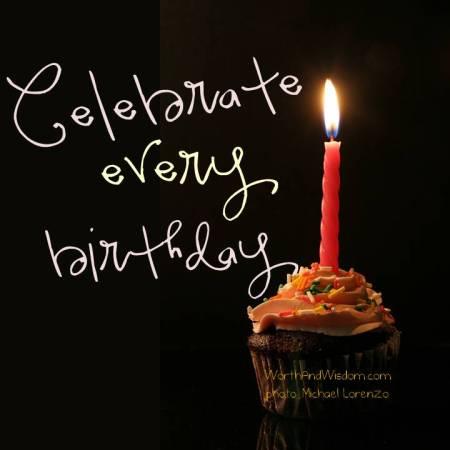 Celebrate every birthday
