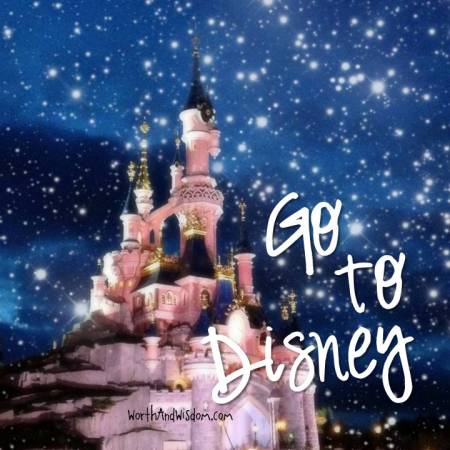 go to disney