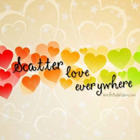 scatter love