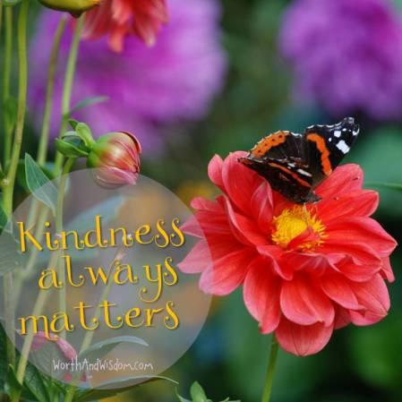 kindness always matters