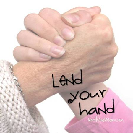 lend your hand