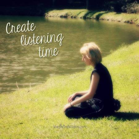 create listening time