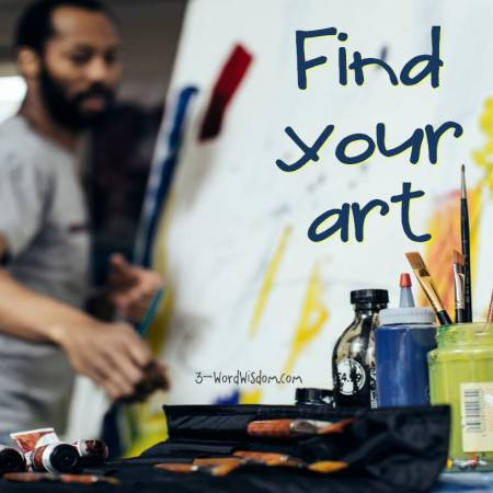 find your art