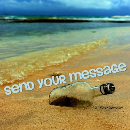 send your message