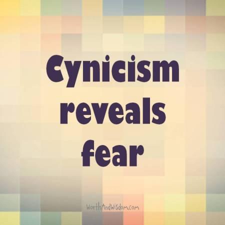 cynicism