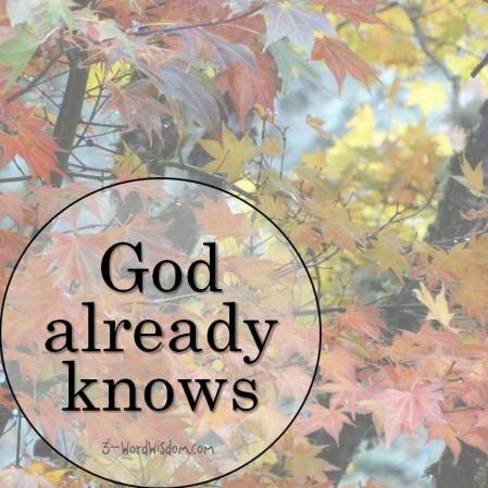 god-already-knows
